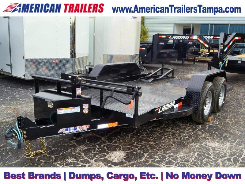 6.5x14 Lamar Bobcat Skidsteer Trailer | Equipment Trailer