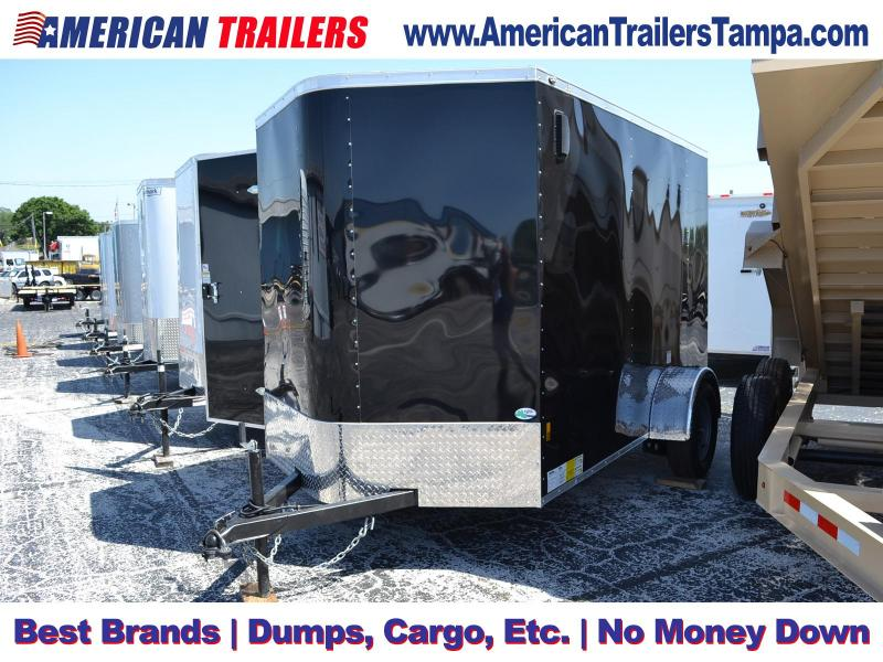 2019 - 6x10 Continental Cargo | Enclosed Cargo Trailer