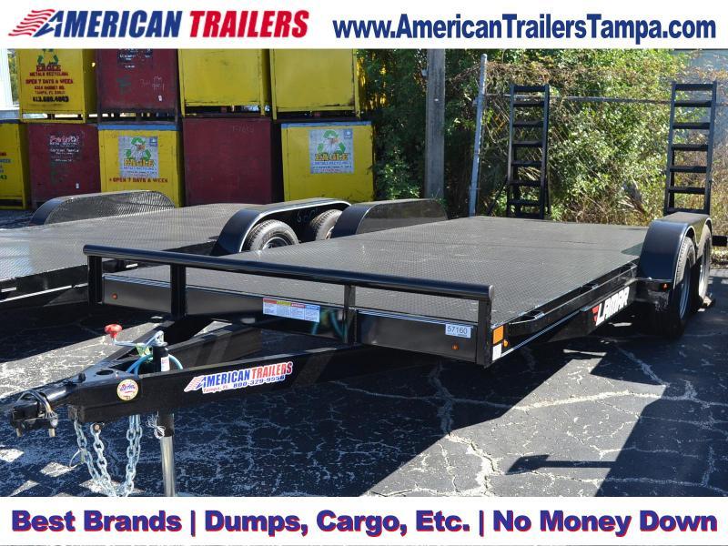 7x18 Lamar Trailers | CLASSIC DECK CAR HAULER