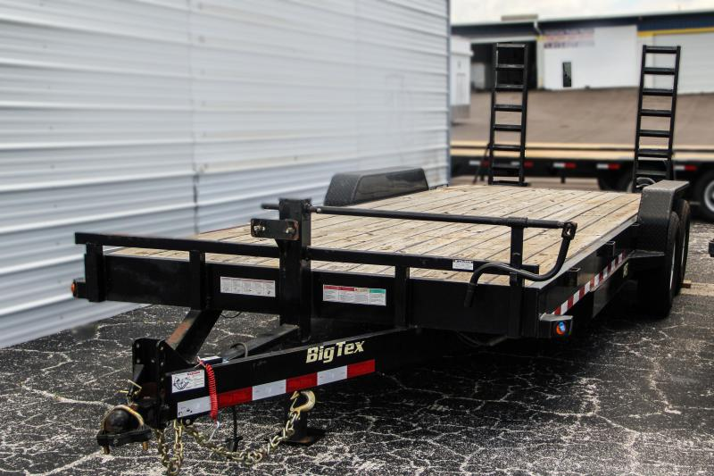 USED: 7x22 Big Tex Trailers | Equipment Trailer [14ET-22BK]