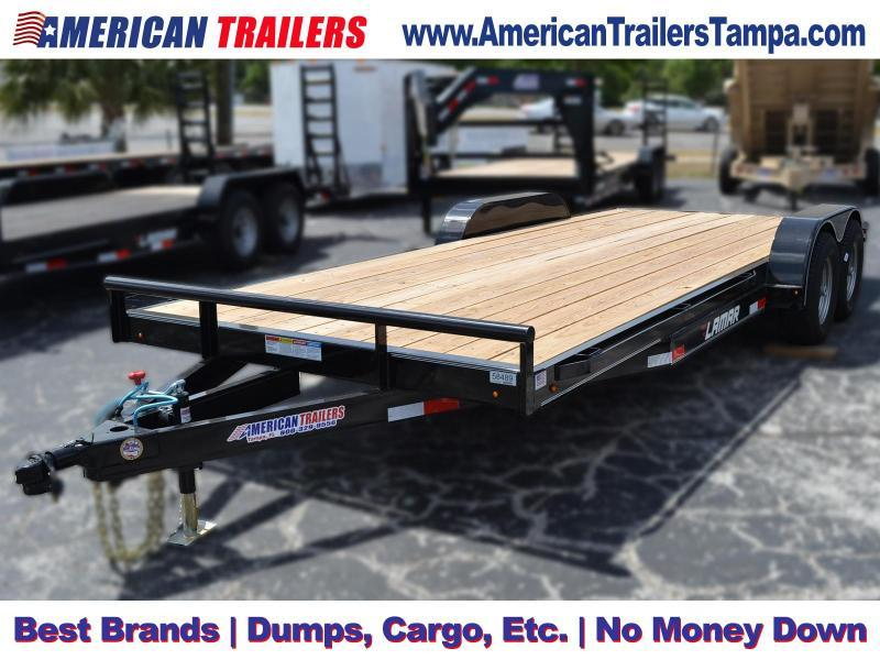 7x20 Lamar Trailers | Classic Deck Car Hauler - Equipment Trailer