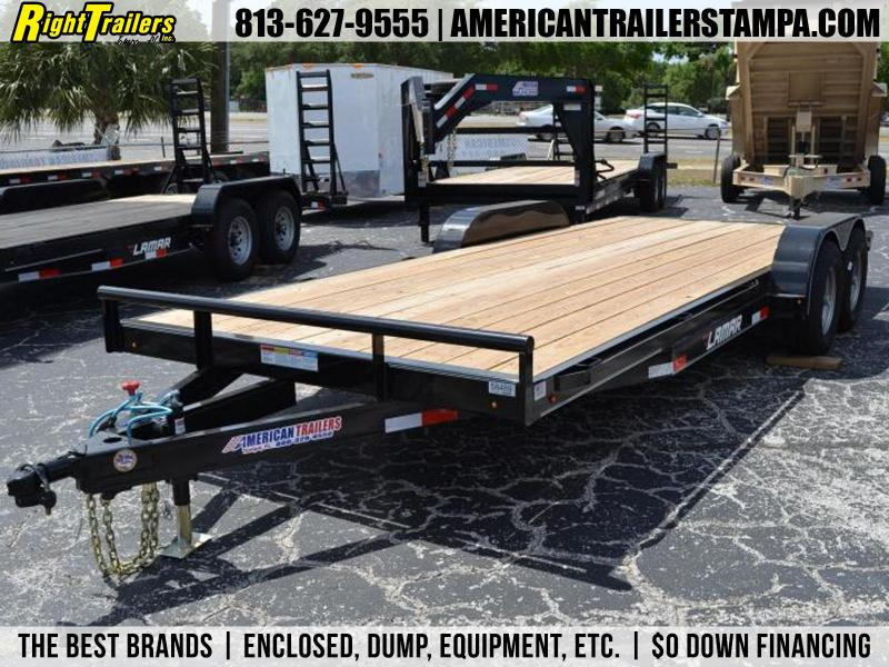 7 x 20 5 TON EQUIPMENT TRAILER