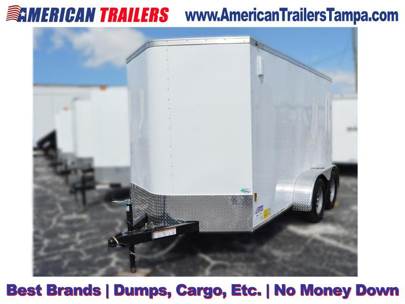 6x12 Continental Cargo | Enclosed Cargo Trailer