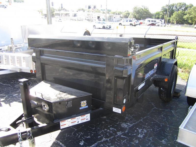 2015 Load Trail 5x10 Single Axle Dump Trailer
