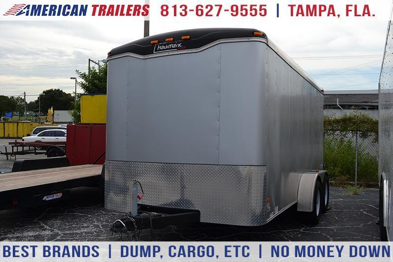 USED: 2013 7x14 Haulmark | Enclosed Trailer [Barn Doors]