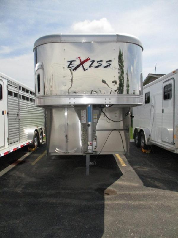 2015 Exiss GN 3 Horse Trailer