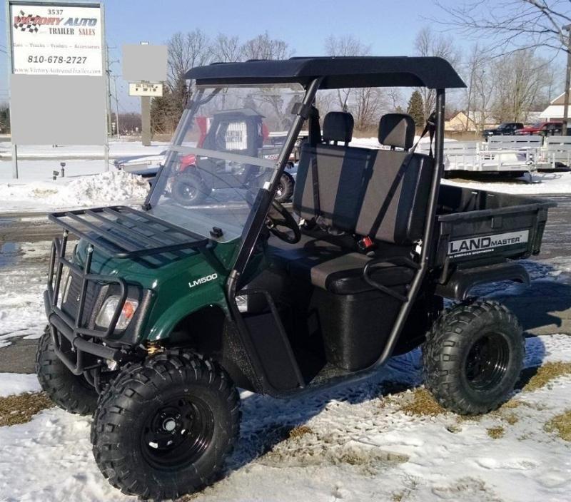 2015 American Sportworks Landmaster LM500 UTV