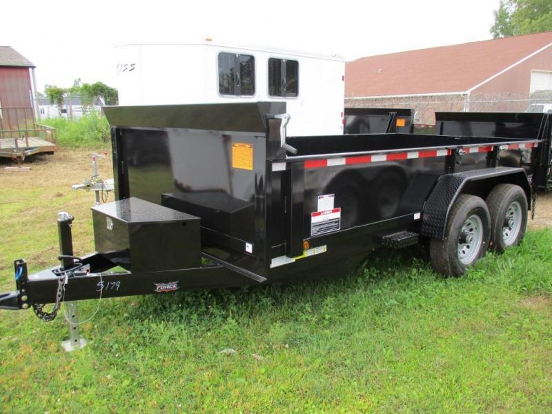 2016 Forest River 7x14 Dump Trailer