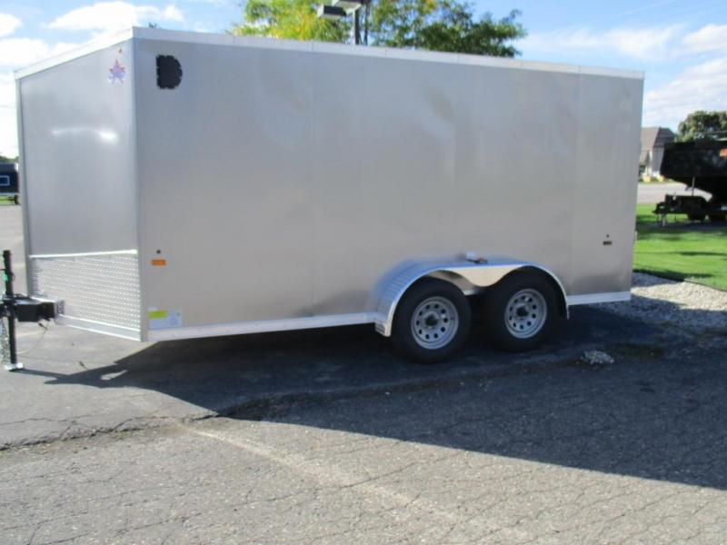 2016 US Cargo ULAFTX714TA2 Enclosed Cargo Trailer