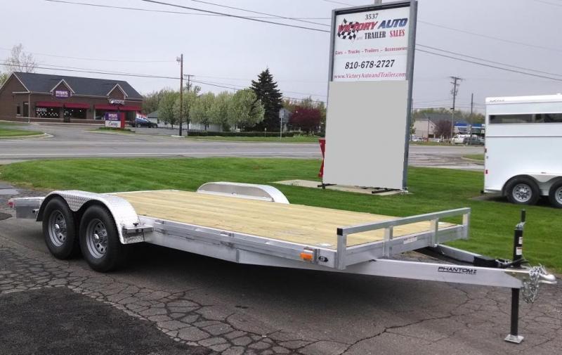 2015 Stealth 7 x 18 Phantom I Car Hauler Trailer