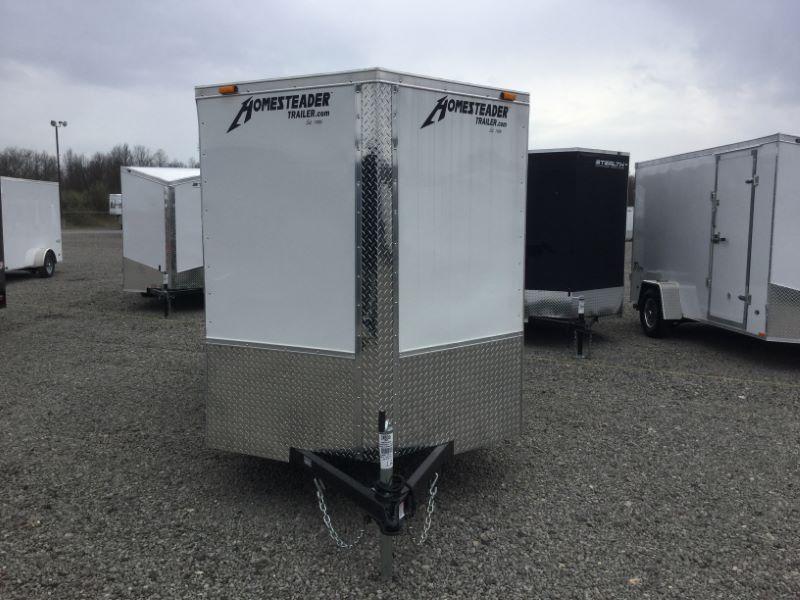 2016 Homesteader 612PS Enclosed Cargo Trailer
