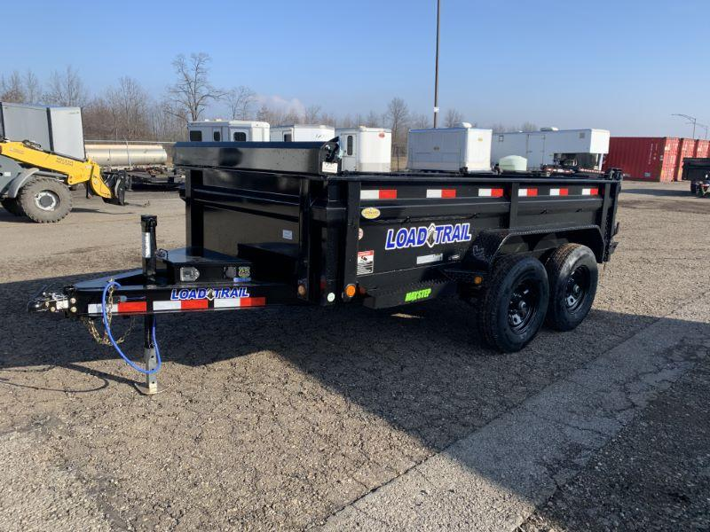2020 6 X 12 LOAD TRAIL BUMPER PULL DUMP TRAILER