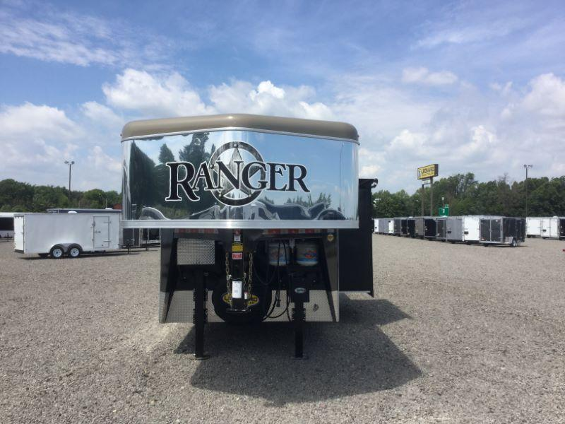 2016 Bison Trailers 8414RG Horse Trailer