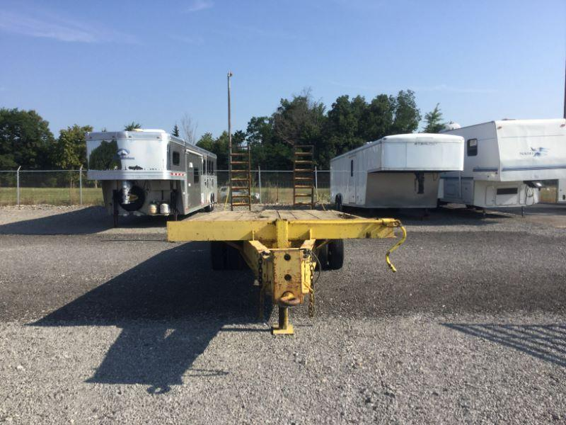 1993 Winston 20+5 Equipment Trailer