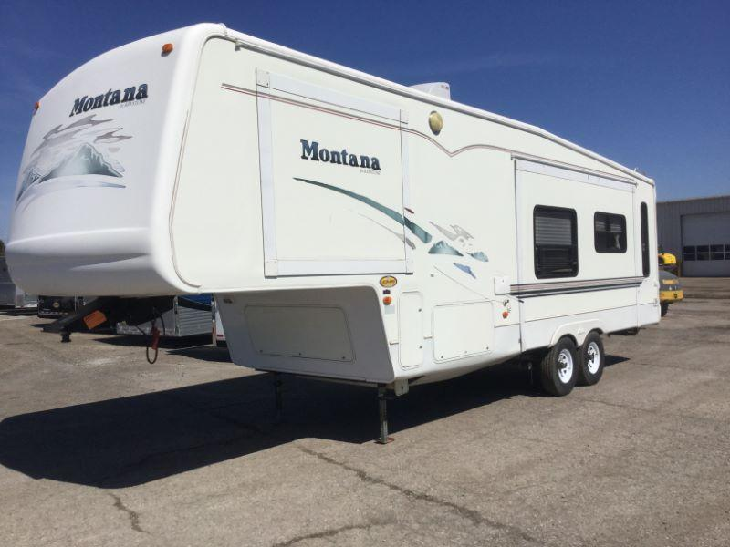 2001 MONTANA TRAVEL TRAILER