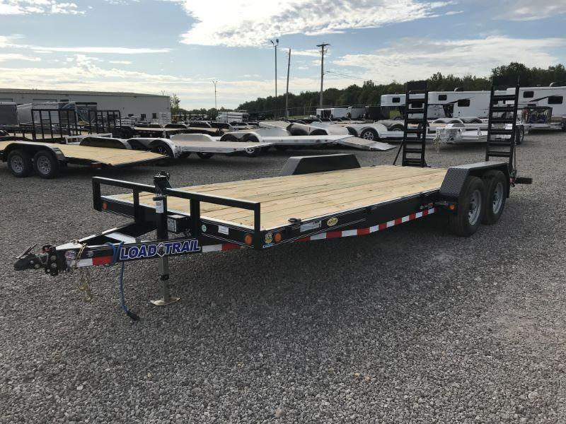 2020 7X20 LOAD TRAIL BUMPER PULL EQUIPMENT TRAILER