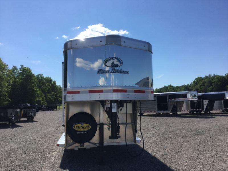 2015 Blue Ribbon Trailers BRXT200½1 Horse Trailer