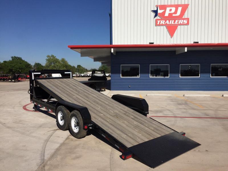 PJ Trailers - Gooseneck Hydraulic Tilt Trailer 82
