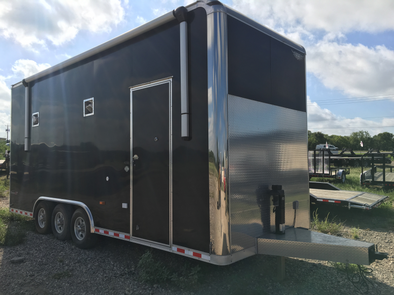 Pace American - 8.5'x24' Enclosed Stacker Trailer
