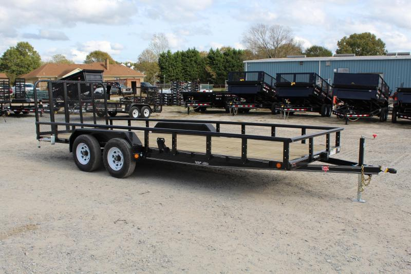 2019 PJ Trailers 20ft UL 10K Utility Trailer