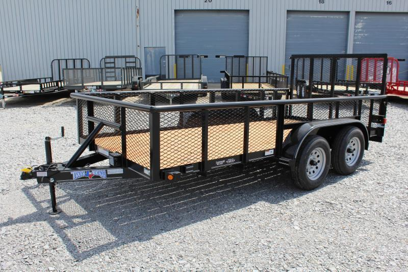 2019 Texas Bragg 14P w/ Gate & 2ft Expanded Sides