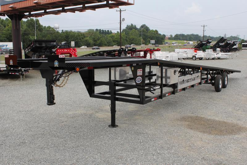 2018 Take 3 48' Ultra Lite Gooseneck 3 Car Trailer w/ Winch Prep