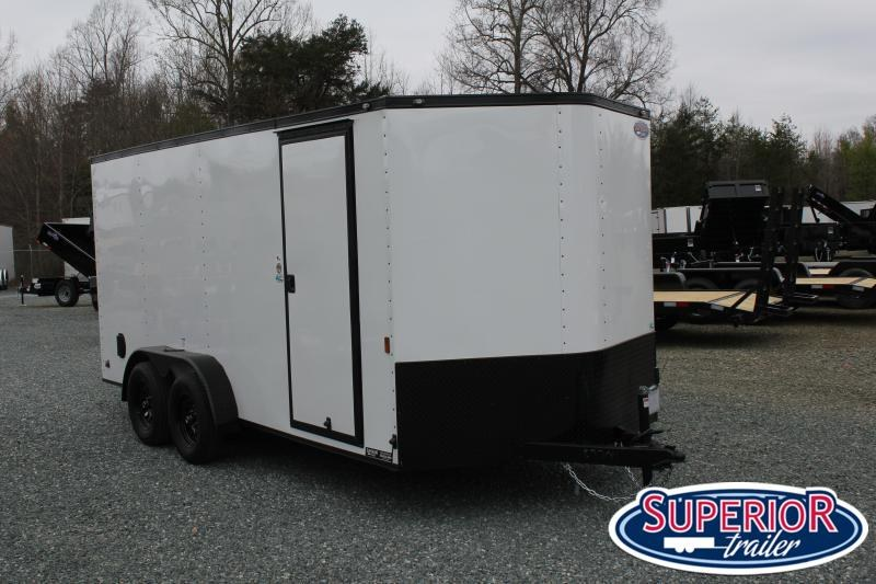 2021 Continental Cargo 7X16 Blk Out w/ Ramp Door