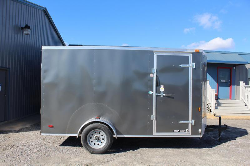 2019 Continental Cargo 6x12 w/ Ramp Door