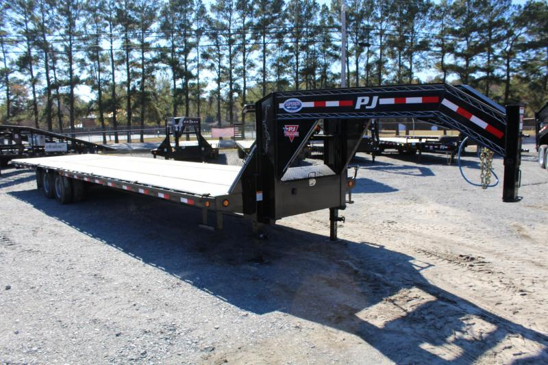 2019 PJ Trailers 36ft LY 20K Low Pro Hydraulic Equipment Trailer