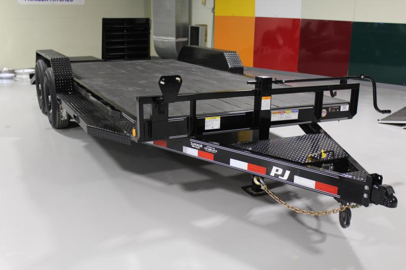 2019 PJ Trailers 18ft CC 14K w/ Monster Ramps