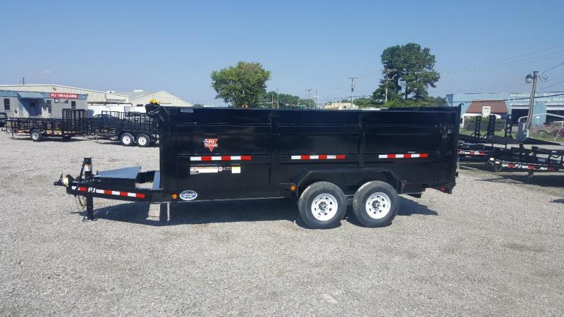 2019 PJ Trailers 7X16 DM 14K High Side Dump Trailer