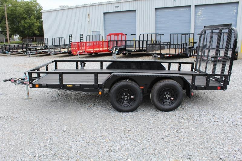 2018 PJ Trailers 14ft UK 7K Utility Trailer