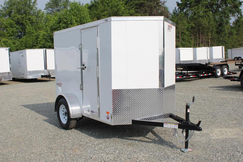 2018 Bravo Scout 5X8 Side Door & Ramp Door