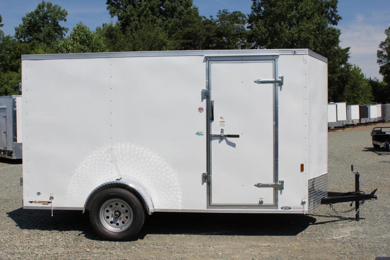 2018 Continental Cargo 6X12 w/ Double Doors
