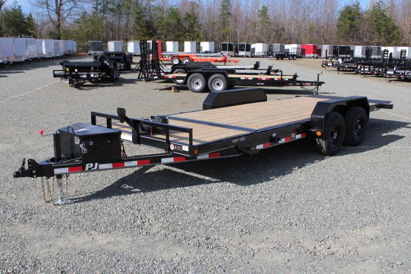 2019 PJ Trailers 20ft T5 Tilt 10K Trailer w/ Winch