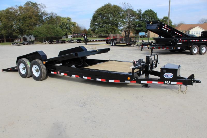 2018 PJ Trailers 22ft TJ 16K Tilt