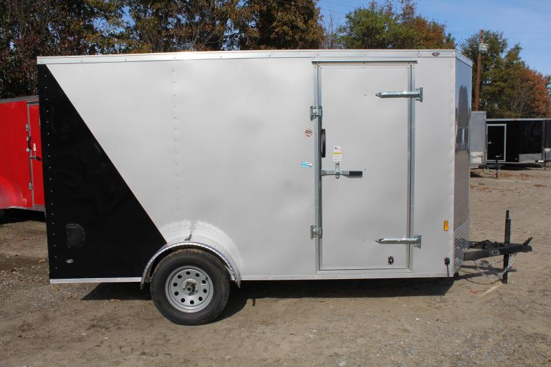 2018 Continental Cargo 6X12 w/Ramp Door