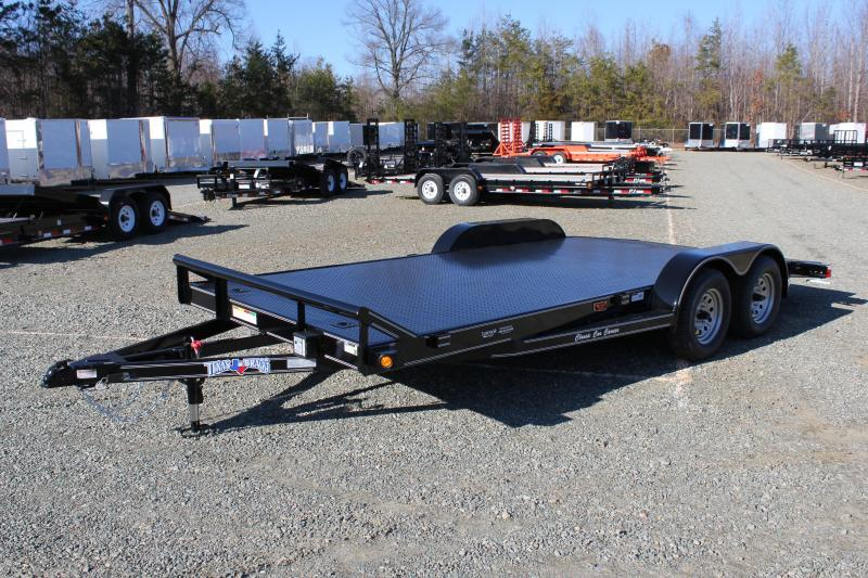 2019 Texas Bragg Trailers 18 CCC Car Trailer