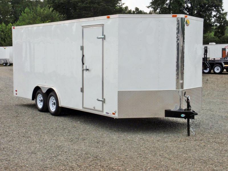 2018 Continental Cargo 8.5X20 7K w/ Ramp Door