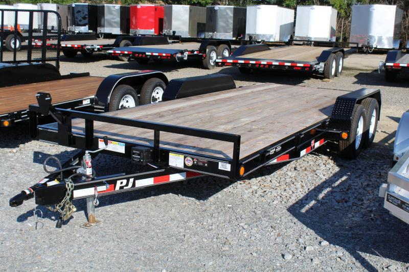 2018 PJ Trailers 18ft C5 Car Trailer w/ Slide in Ramps