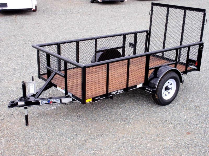 2017 Texas Bragg Trailers 5X10P 2ft Expanded Sides Utility Trailer