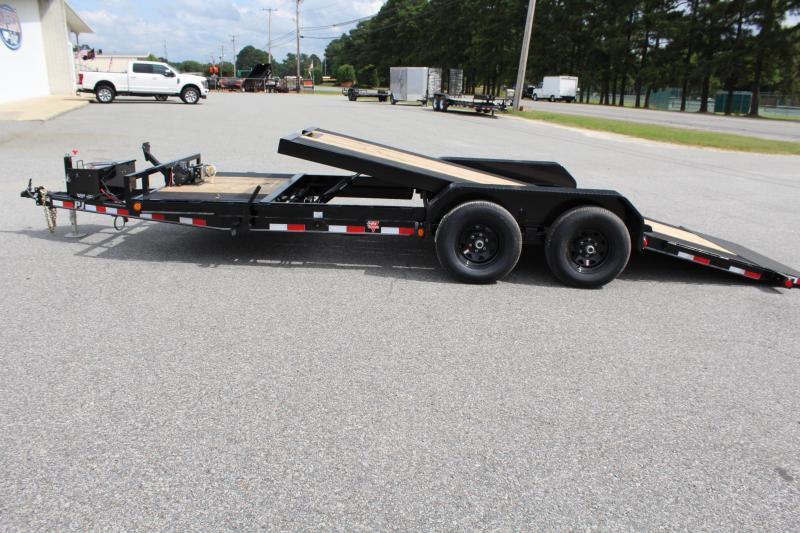 2018 PJ Trailers 20ft T5 Tilt 10K Equipment Trailers