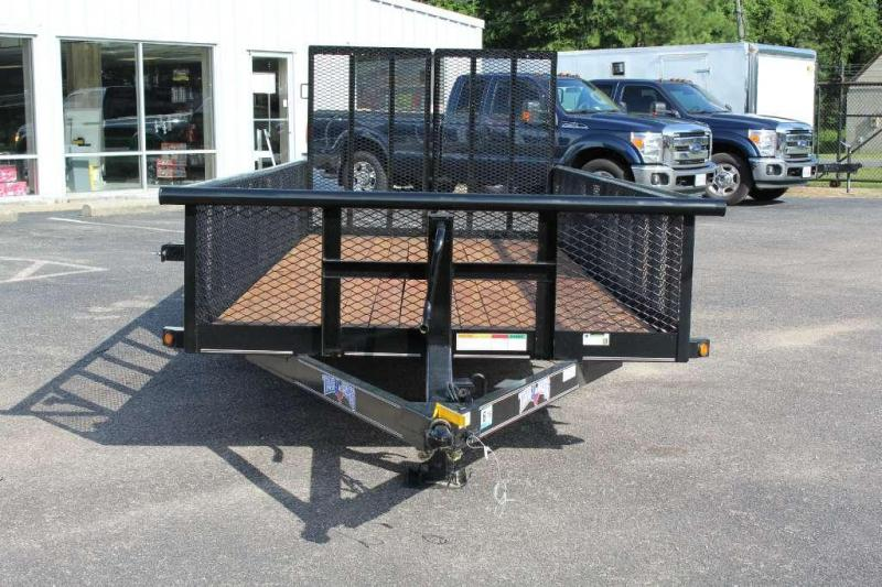 2017 Texas Bragg Trailers 20BST 10K 2ft Expanded Sides Equipment Trailers