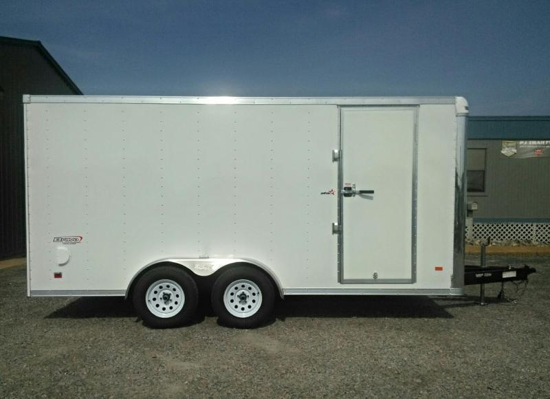 2018 Bravo Star 7X16 w/Ramp Door & D Rings