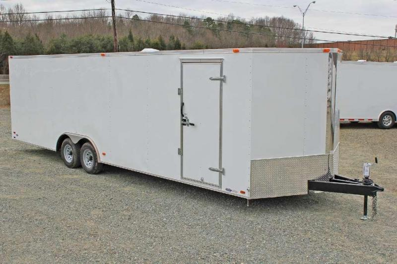 2018 Continental Cargo 8.5X28 10K W/Ramp Door