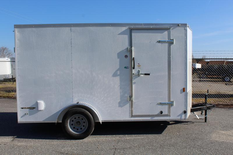 2020 Continental Cargo 7X12 w/ Double Rear Door