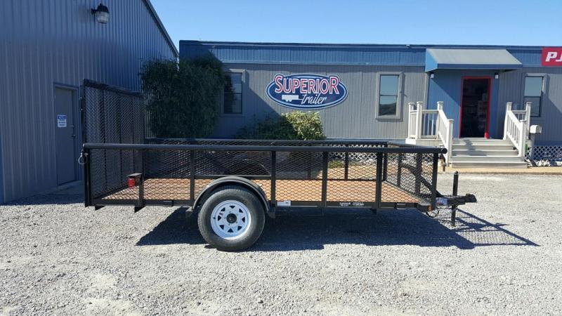 2018 Texas Bragg Trailers 6x12P 2ft Expanded Sides Utility Trailer