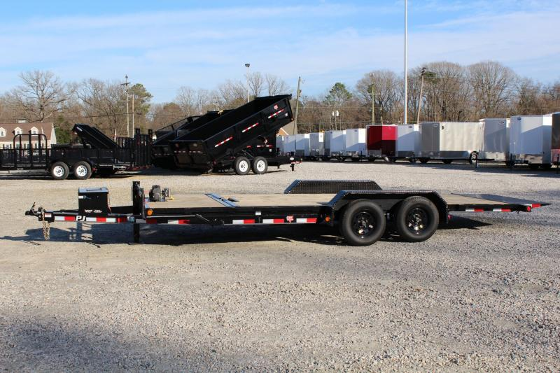 2017 PJ Trailers 20ft T5 7K Tilt Equipment Trailers