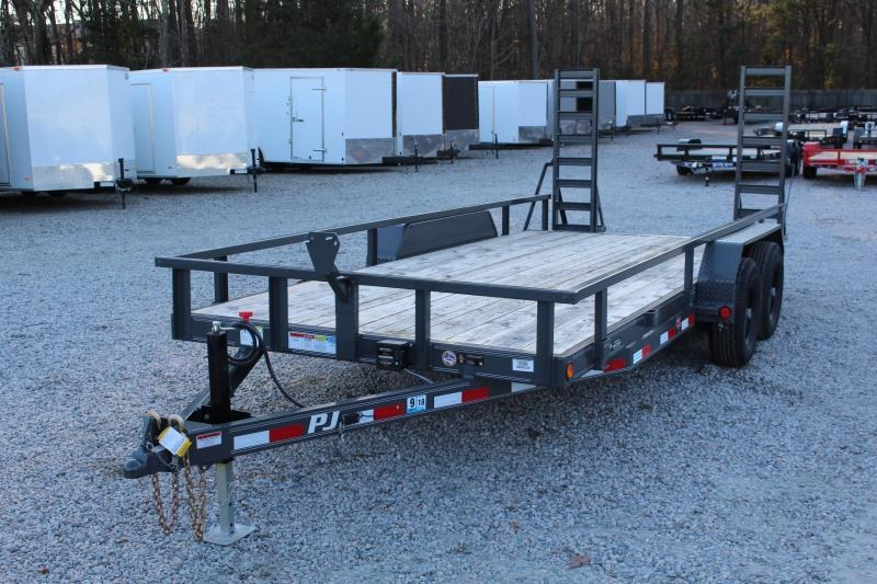 2018 PJ Trailers 18' CE 10K Equipment Trailer