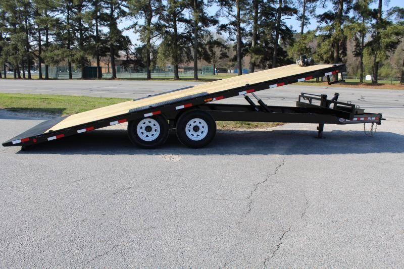 2019 PJ Trailers 22ft T8 14K Tilt Equipment Trailer